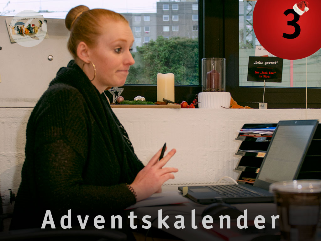 3. Advent: Stephie wartet