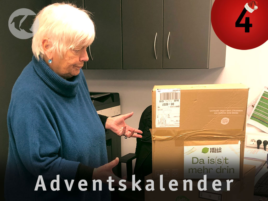 4. Advent: Geka vor Kisten